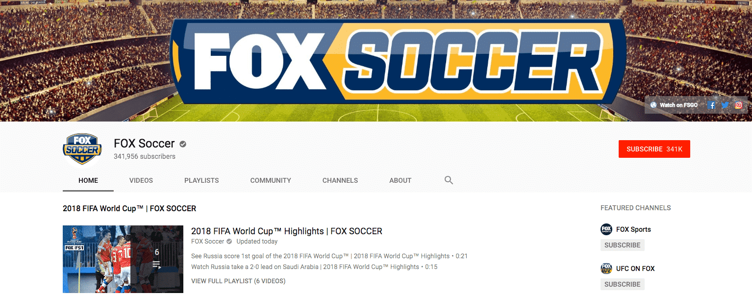 youtube world cup highlights fox soccer
