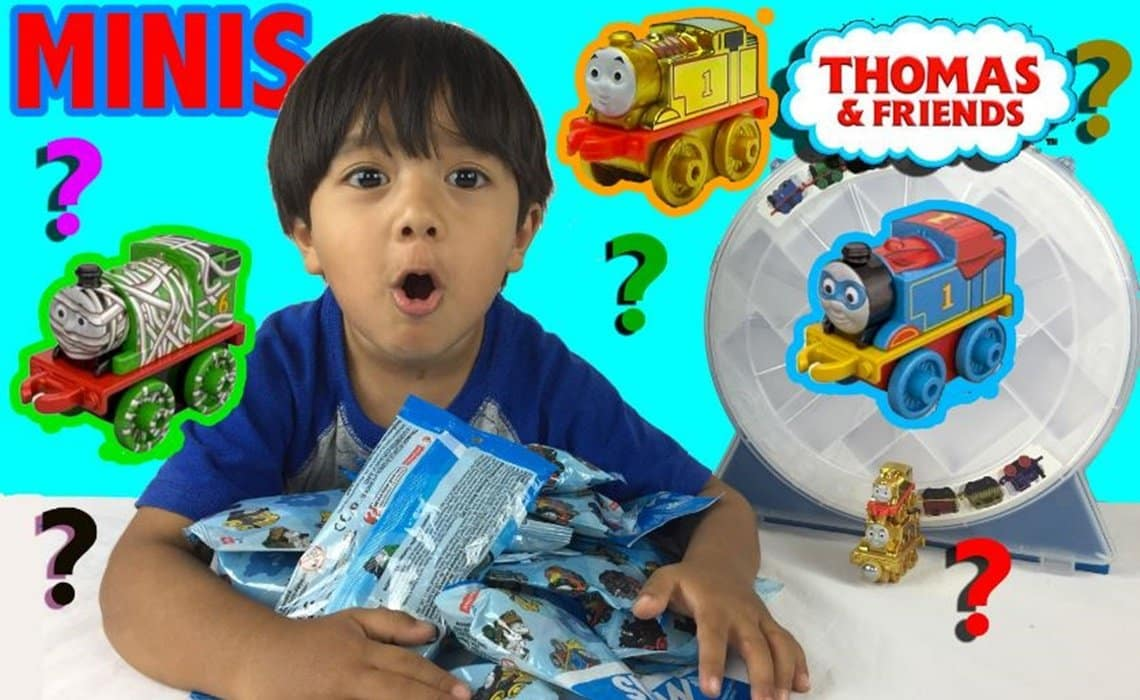 Ryan's Toy Review Hailed YouTube Top Earner for 2018