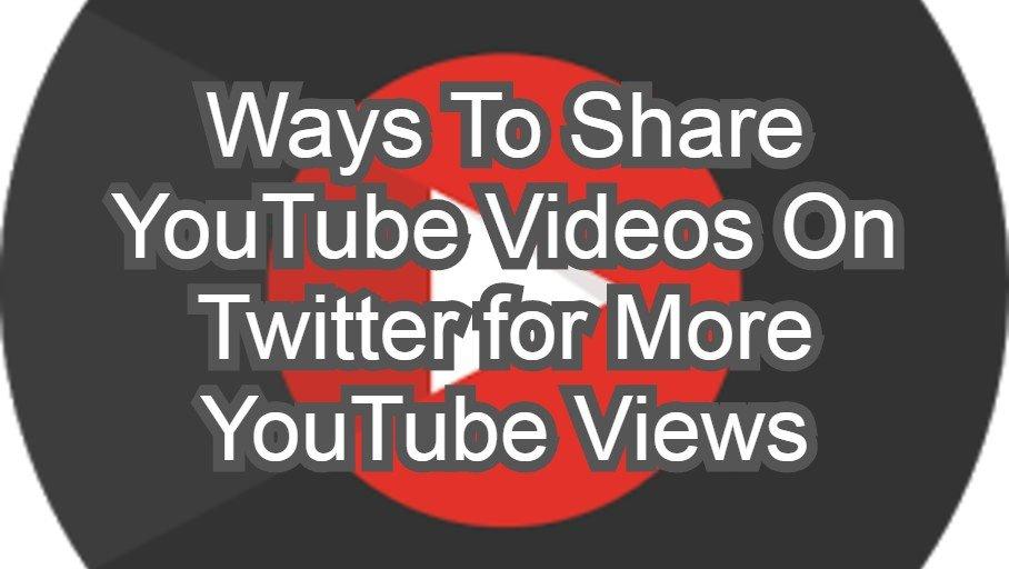 A YouTube-videók megosztásának lehetőségei a Twitteren, további YouTube-megtekintésekért